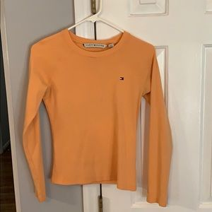 Size small orange tommy hilfiger top